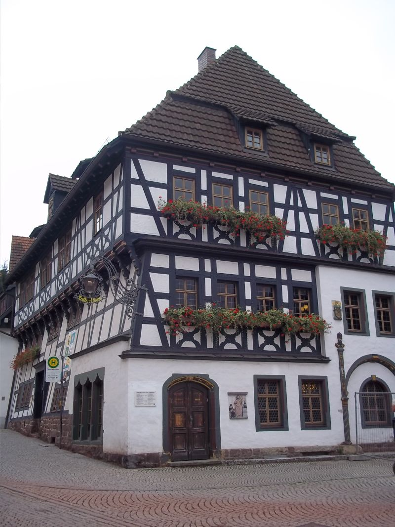 Eisenach Luther house ,bicycle touring partner wanted