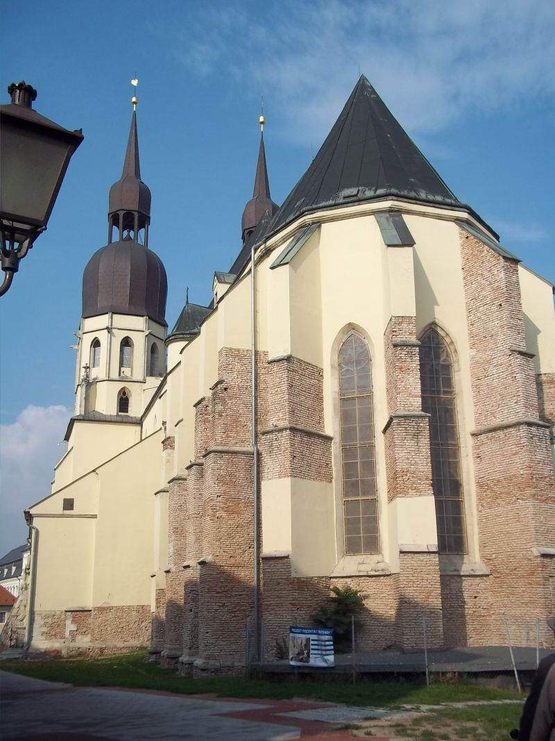 Trnava St.Nikolaus cathedral, cycling tour partner wanted