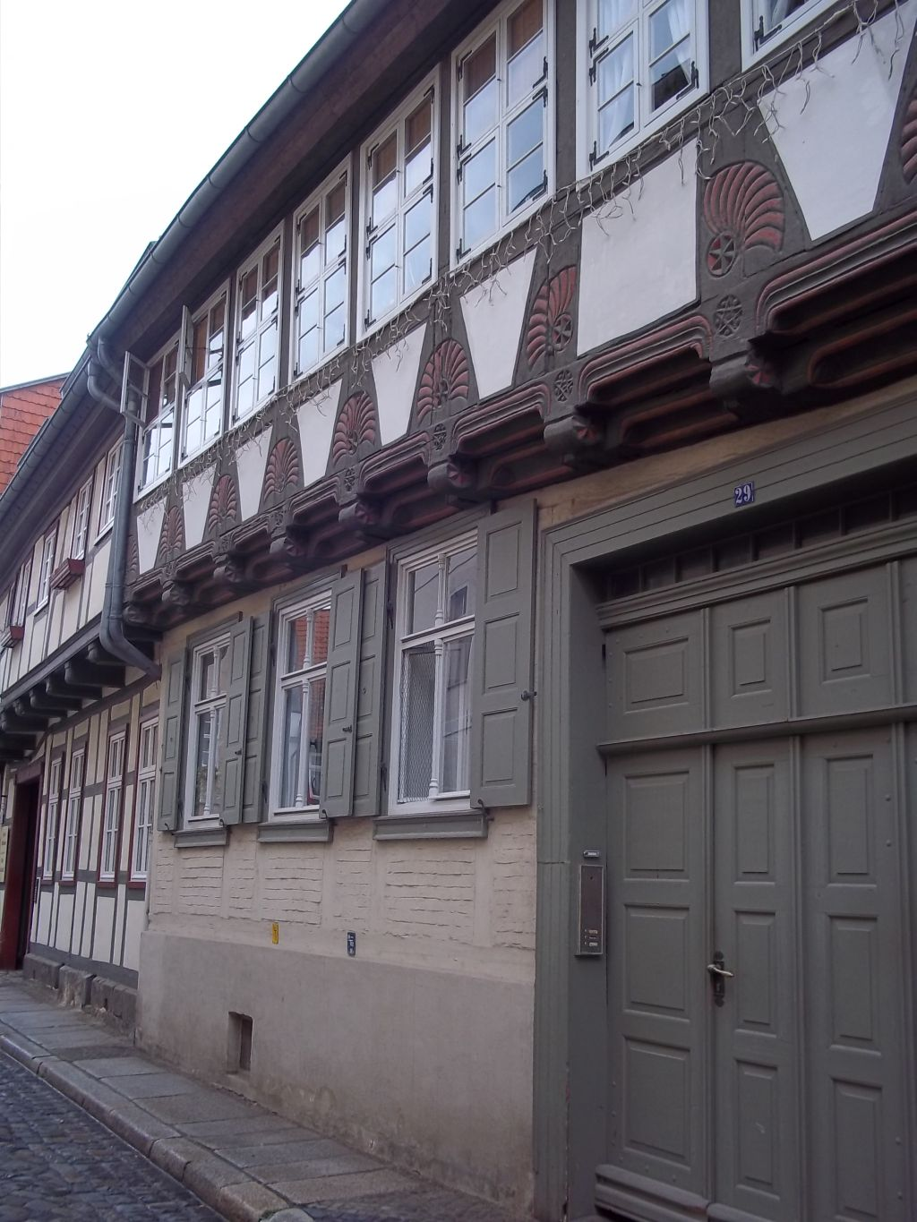 Quedlinburg half-timbered house,tour cycling partner wanted