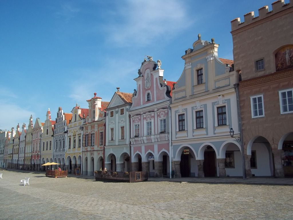 Telč Market square bicycle touring partner wanted