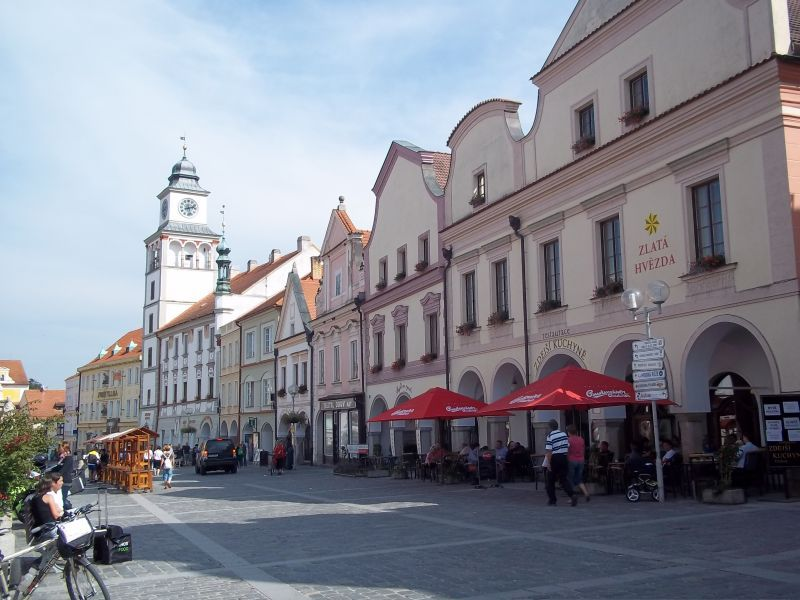 Třeboň main square bicycle touring partner wanted