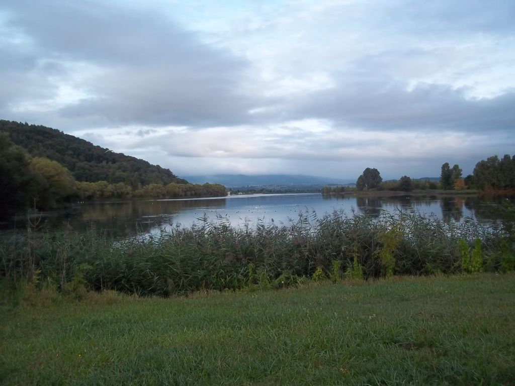 Werra valley lake at Eschwege tour cycling partner wanted