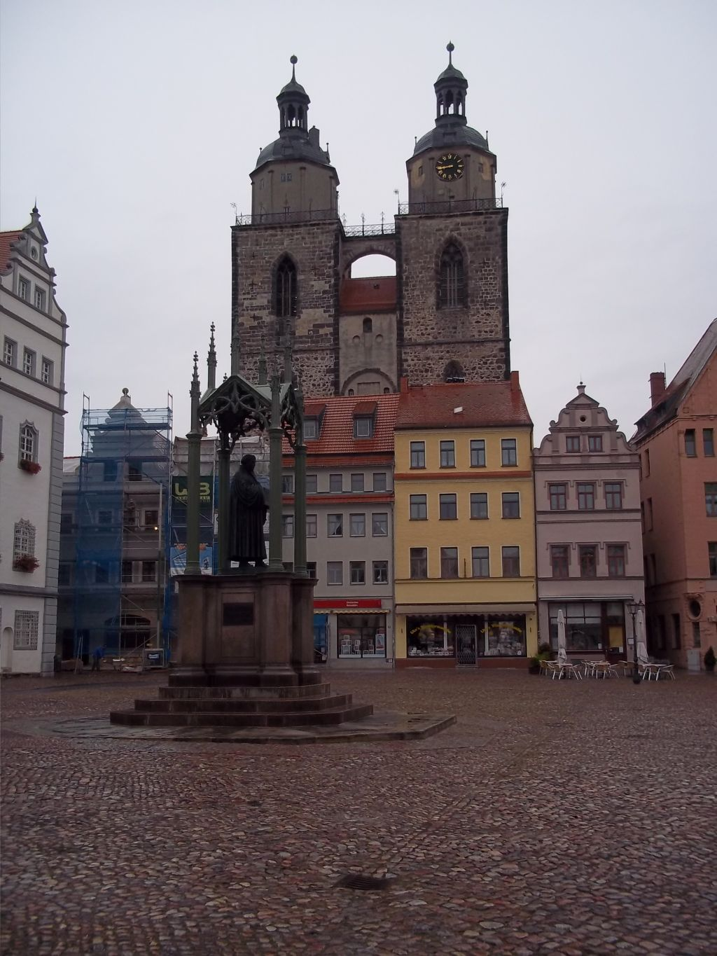 Wittenberger Stadtkirche Luther memorial town,cycling tour partner wanted