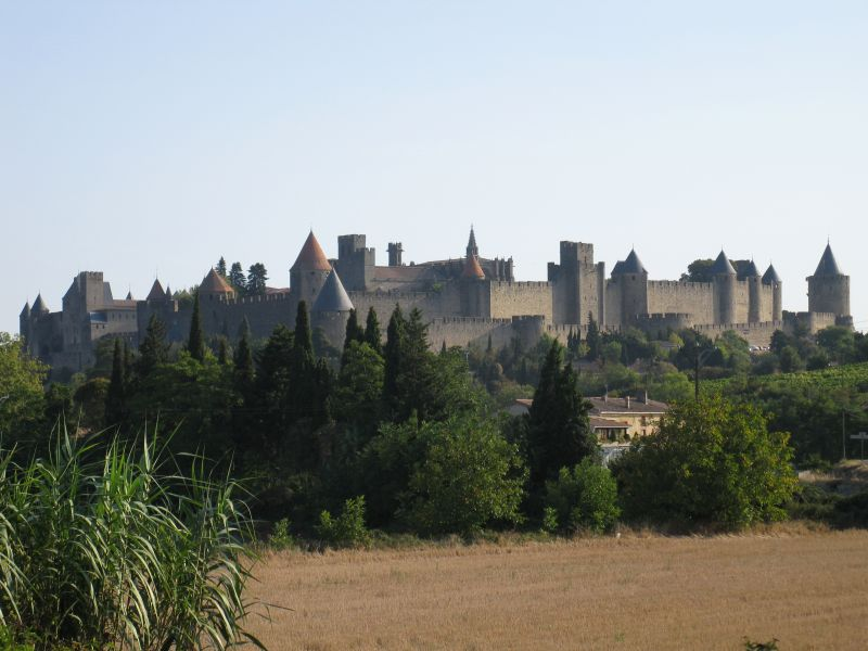 Carcassonne_am_Morgen