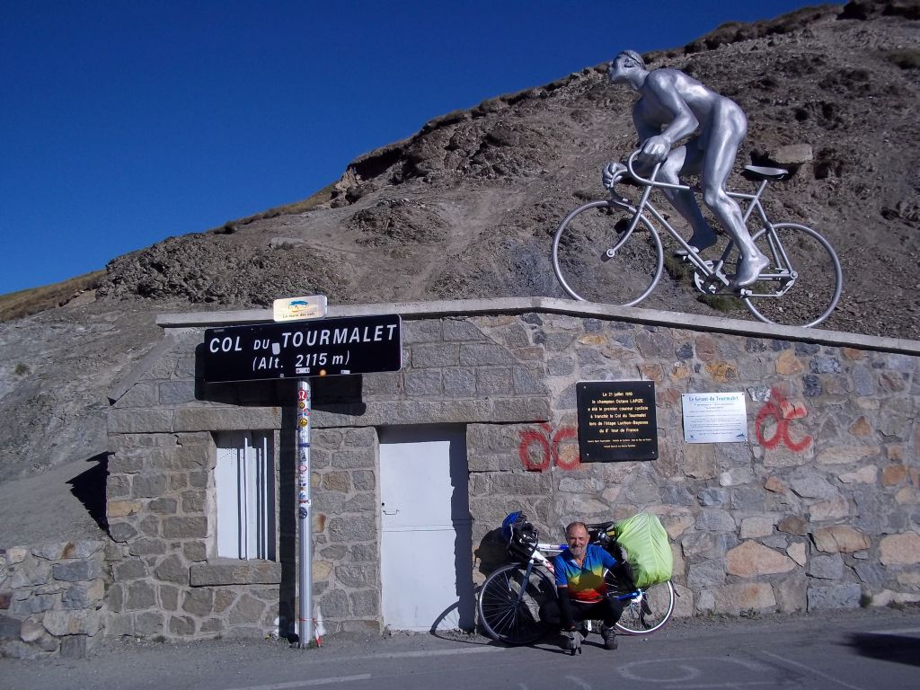 bicyccle tour Col_du_Tourmalet western slope